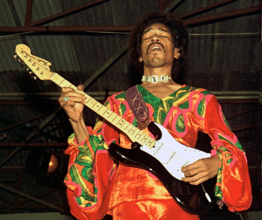 Jimi Hendrix (Foto: Carl van der Walle)