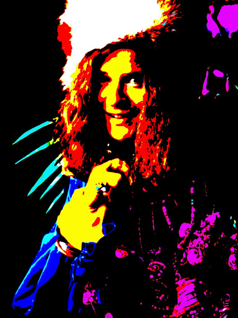 Janis Joplin (Photo Graphic Art: Gerd Coordes)