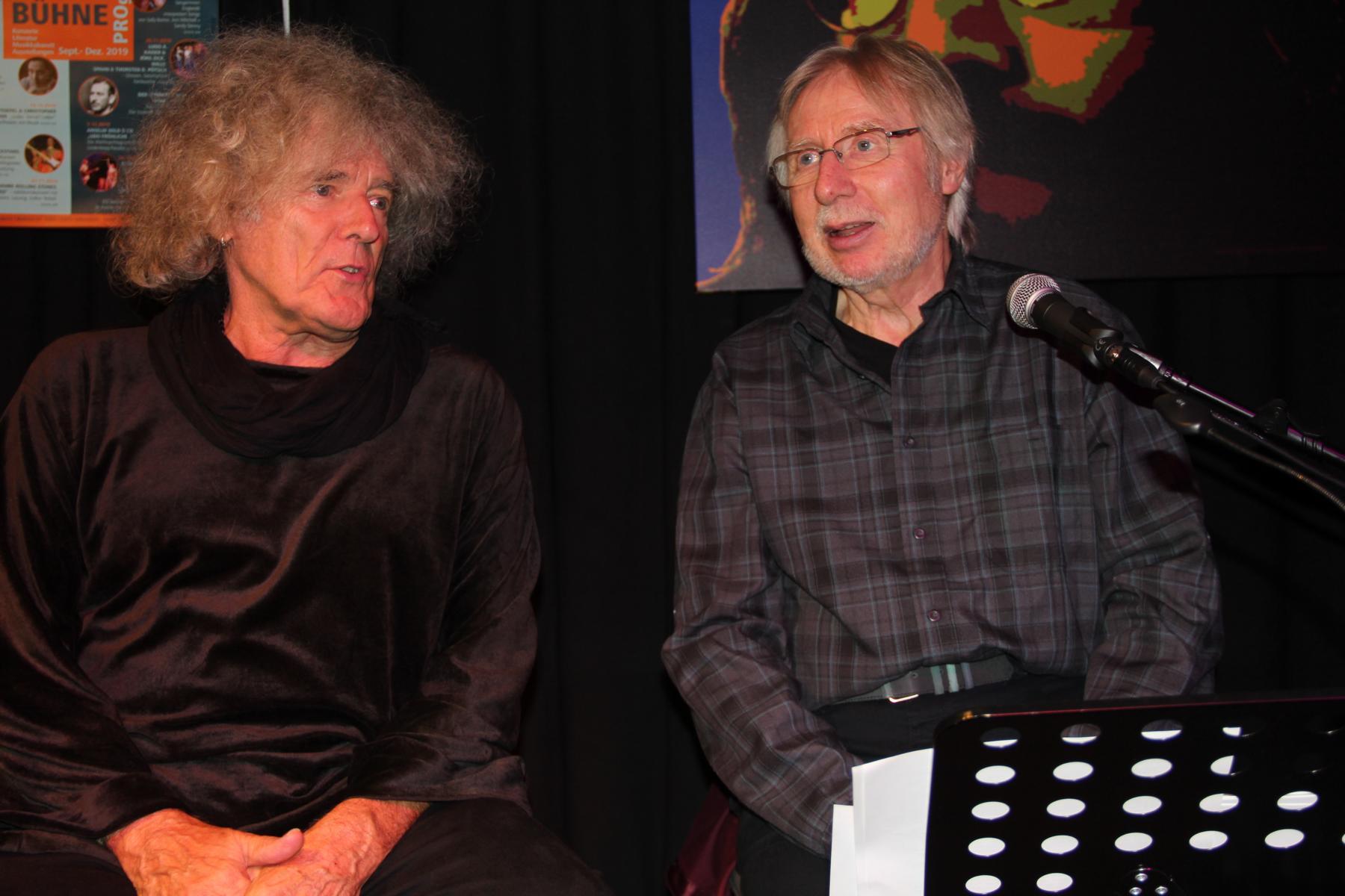 Moritz Stoepel & Volker Rebell (Foto gs)