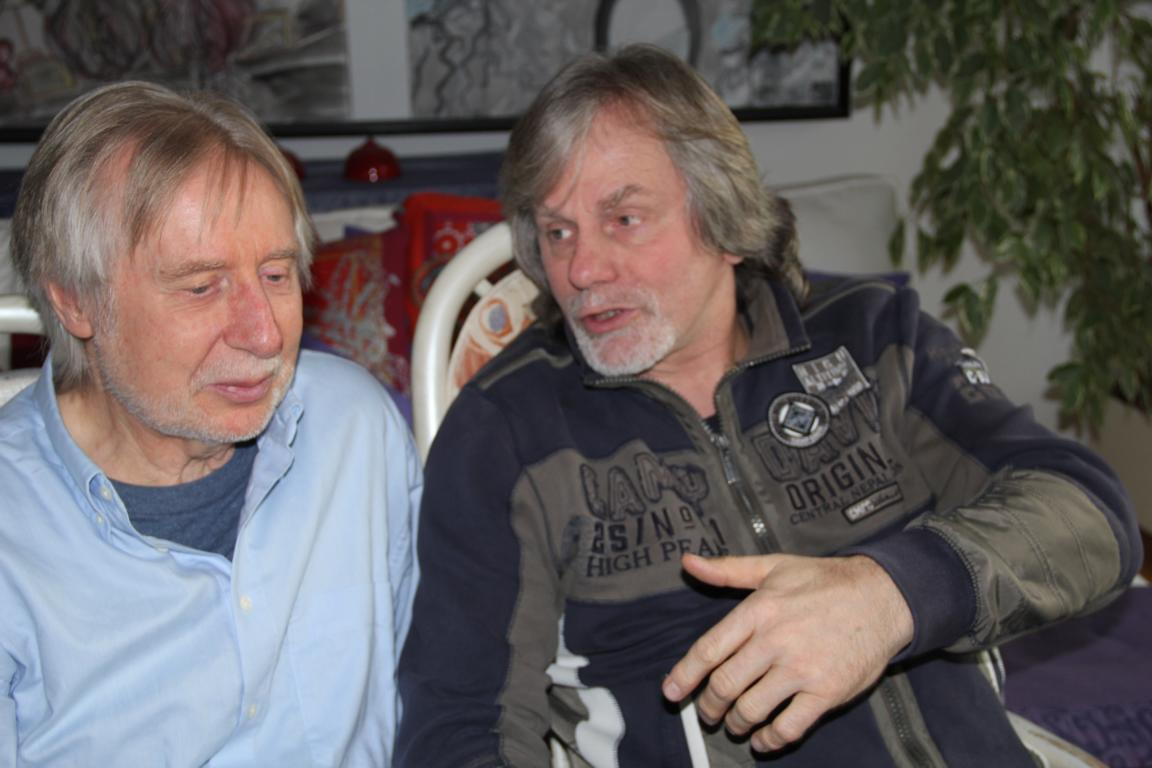 Volker Rebell & Michael Sagmeister (Foto: gs)
