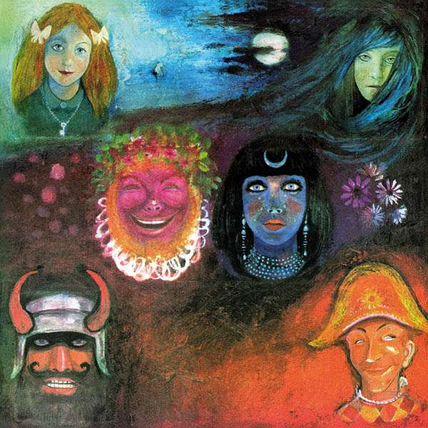 "Albumcover: King Crimson ""In The Wake Of Poseidon"""