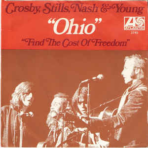 "Cover der Single ""Ohio"" von CSN&Y"