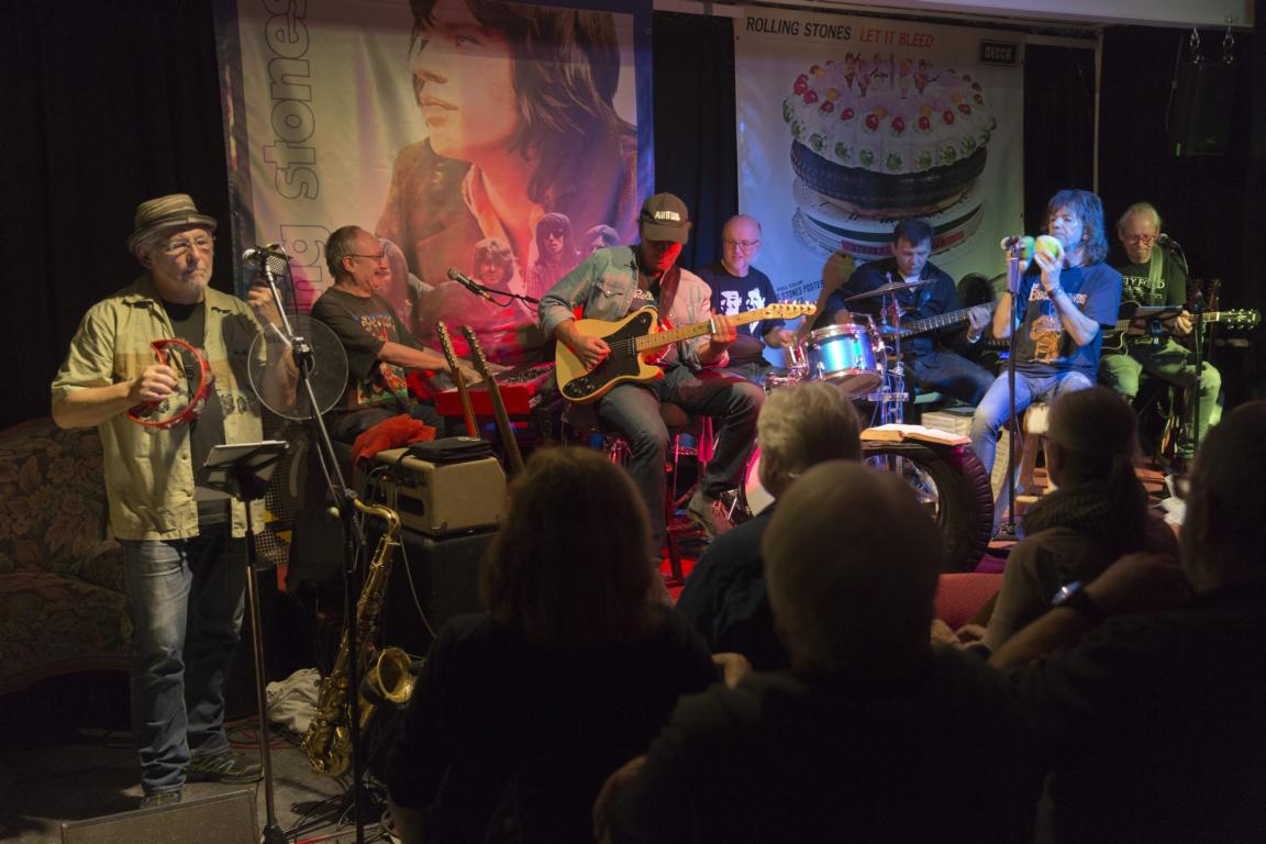 Konzert der Glitter Twins auf der Rebellischen Studiobühne.  Foto aufgenommen am 03.11.2019 von Rolf Oeser