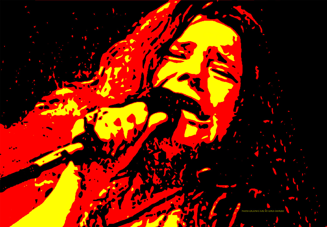 Janis Joplin (Photo-Grafic-Art: Gerd Coordes)