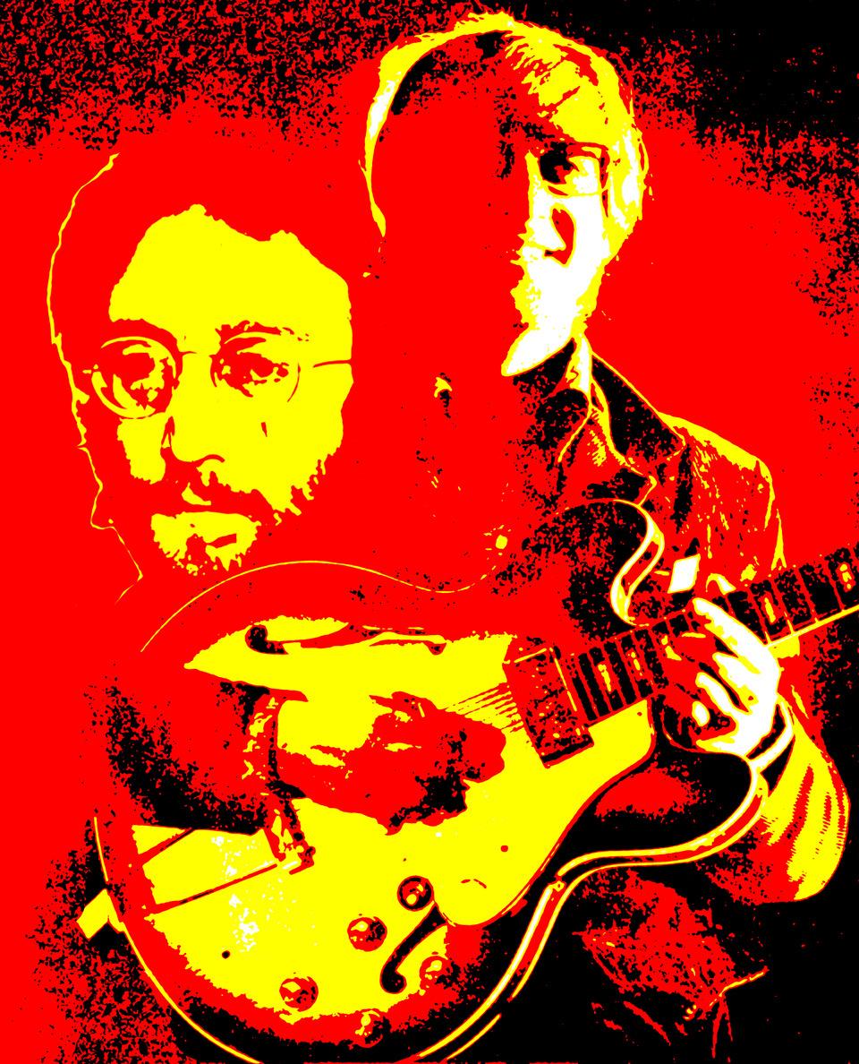 John Lennon (Photo-Graphic-Art: Gerd Coordes)