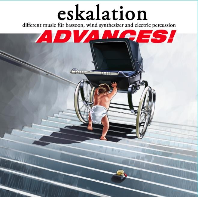 """Cover des Albums """"advances"""" von eskalation/Stephan Köhr"""